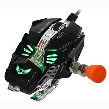 Gaming Mouse Mechanical Mouse 8 Button Wired Game Mouse Gamer A5050 Chip Macros Programming Optical Computer Mouse for Laptop PC เมาส์