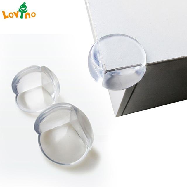 Lovyno 10/12 piezas bebé niño de seguridad Protector de silicona esquina de la Tabla de Protección de la cubierta del borde niños anticolisión Edge y guardias.