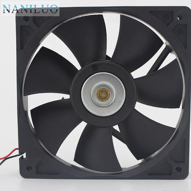 Original For NMB 4715KL-05W-B39 12038 12cm 120mm DC 24V 0.36A 8.64W 3 lines 3-pin alarm signal server axial fans