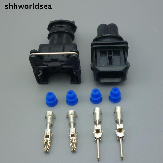 0280150943 BOSCH  CLIP CONNECTOR FUEL INJECTOR FOR MANY CARS EV1 PLUG FIC14