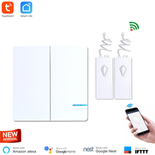 Get more info on the Wireless WiFi Light Switch 2 Way with 2 receiver Waterproof IP54 Remote Control Wireless Smart Switch Indoor 40M Tuya Smart App