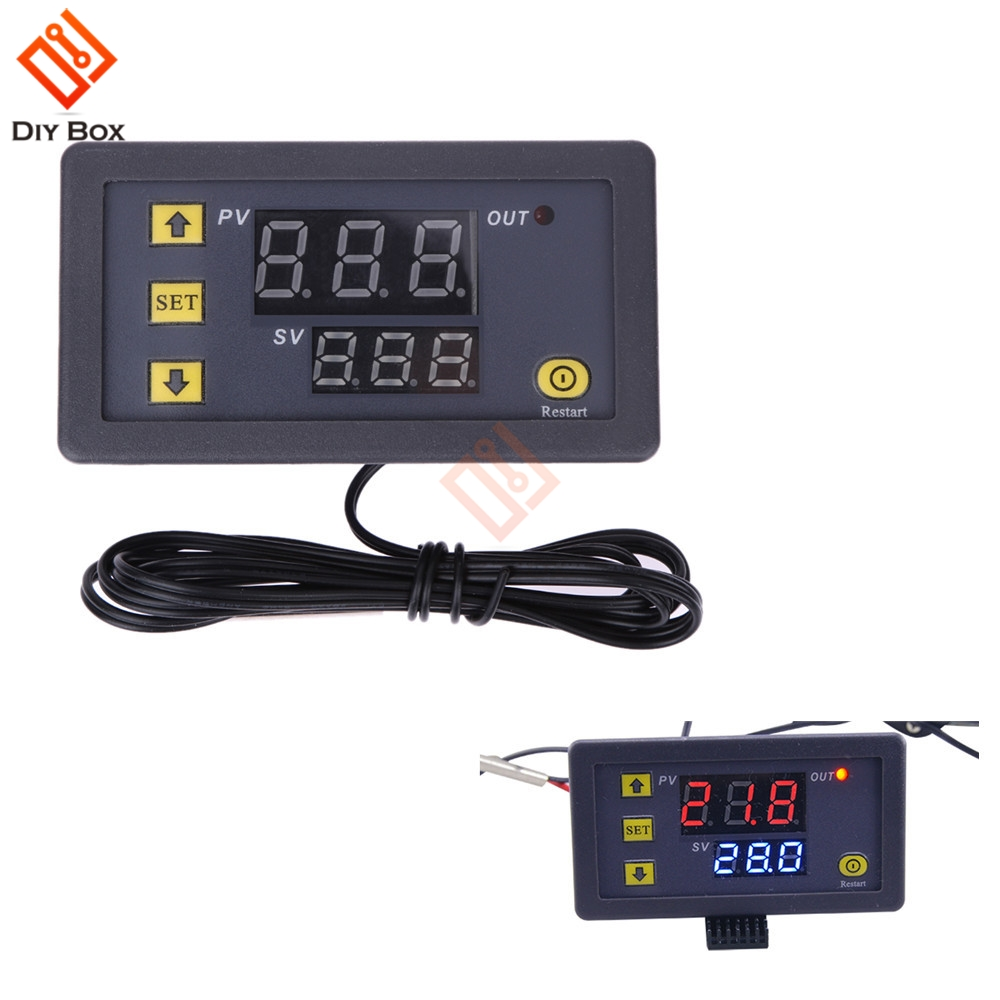 Back To Search Resultselectronic Components & Supplies 110v-220v Ac W3230 High Precision Digital Temperature Controller Thermostat Thermometer Temperature Sensor Meter Smart Home