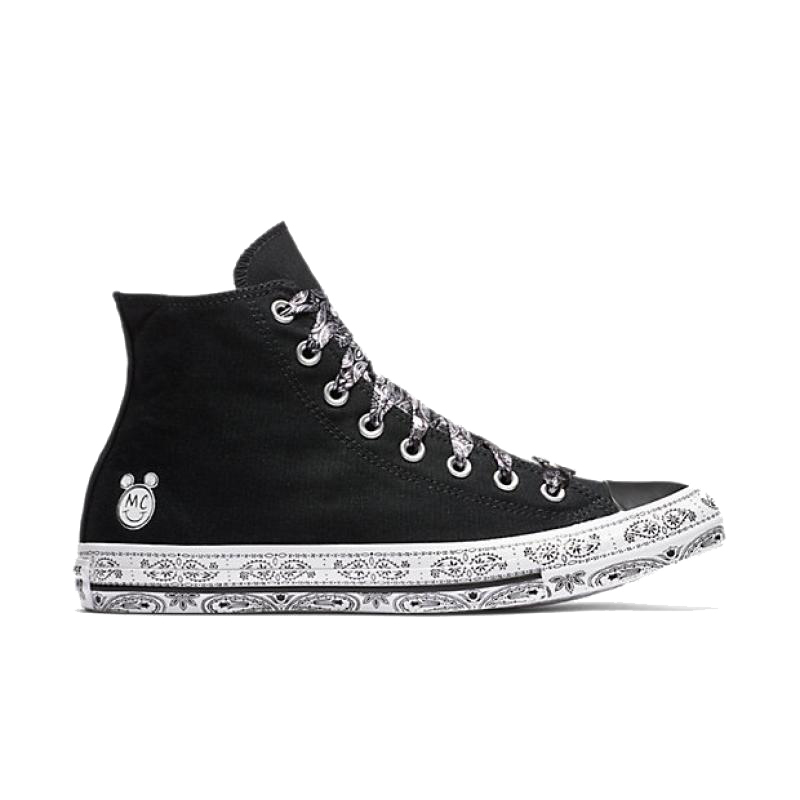 40b1b20eae3c Converse Women x Miley Cyrus All Star Skateboarding Shoes Classic Canvas  High Top Anti-Slippery Resistant Comfortable