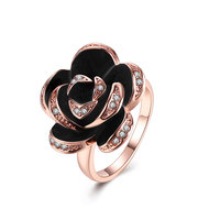 XU Elegant Flower Rings Women S Fashion Jewelry Anniversary Gift Wholesale And Sell Like Hot Cakes
