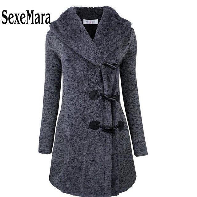 2016 женщин зимы Шерстяные Пальто однобортный теплые шерстяные пальто Толстый Зимний Верхней Одежды тонкий утолщение с капюшоном шуба