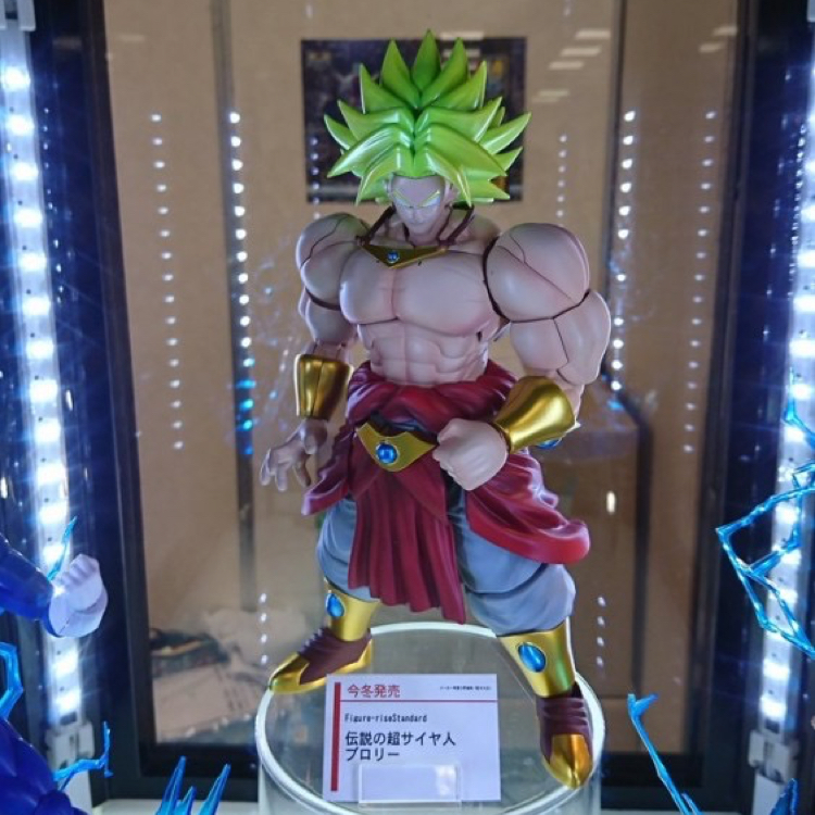 Dragon Ball Z Figure-Rise Standard Super Saiyan Broly Building Kit Japan Anime Collectible Mascot Toys 100% Original