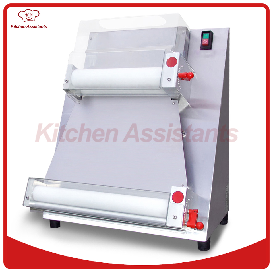 DR1V electric stand stainless steel pizza dough roller machine pizza making machines dough sheeter