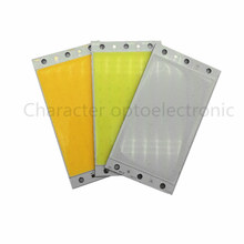 94x50mm Ultra Bright 15W LED COB Strip Lamp Lights Chip On Board Warm Pure Warm white Cool White Blue Lighting Source for DIY ultra bright 10w 12v cob led white warm white strip tube light lamp source chip for car diy 400mmx6mm lighting project 10pcs