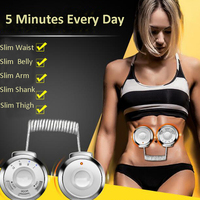 RF Radio Frequency Waist Abdominal Fitness Massage Machine Body Trimming Exercise Lose Weight Slim Belt Muscle