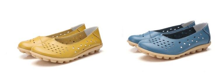 AH 5929-1-2019 Summer Woman Flats Cut-Outs Women Loafers-7