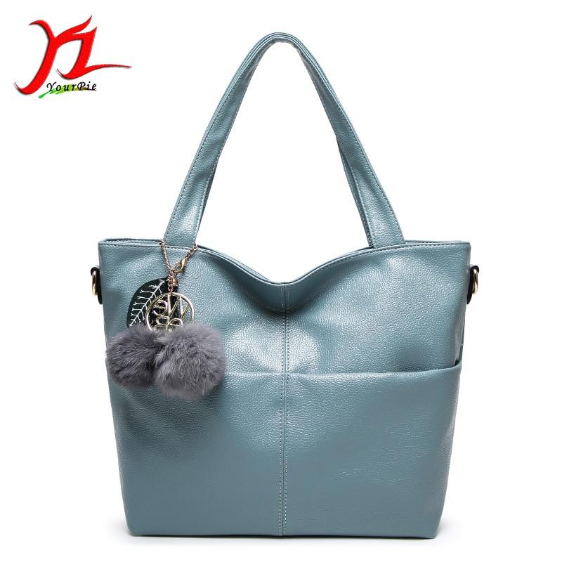 ФОТО Female New Autumn Winter Fashion Handbag Litchi Grain PU Leather Lychee Pattern Simple Casual OL Ladies Tote Single Shoulder Bag