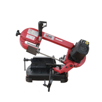 220V Portable 5 inch metal band saw Woodworking metal sawing machine 550W Y