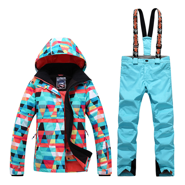 d2ee69e857 GsouSnow winter style new ski suit