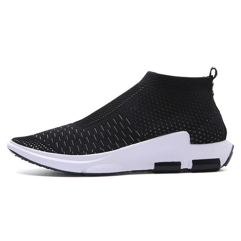 Respirable Ligero Casual Malla Verano Zapatos Y8 Nuevo Hombres red Black Mocasines 2017 De Cómodo gray Ra1nz