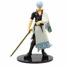 25cm Gintama Sakata Gintoki Action figure Master Stars Piece PVC Toy Anime Gift