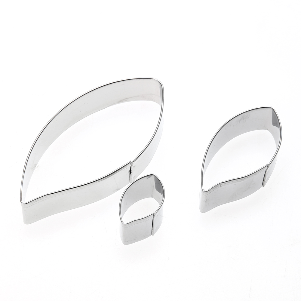 ⊱3 unids/set metal cookie Cutter molde sugarcraft pastelería ...