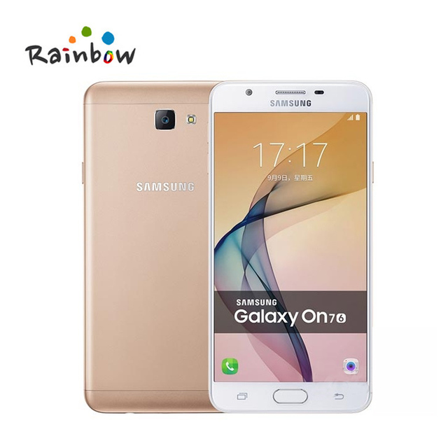 Original Samsung Galaxy On 7 G6100 4G LTE Dual SIM Cell Phone J7 Prime On7 5.5'' Inch Android Quad Core with 13MP Camera