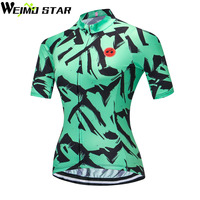 WEIMOSTAR Team Pro Women Cycling Jersey Outdoor Sports Bicycle Bike Short  Sleeve Shirt Ropa Ciclismo Clothing 01d533c25