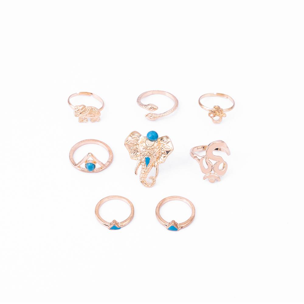 HTB1mZmwRVXXXXbyaXXXq6xXFXXXb Fashionable 8-Pieces Boho Retro Spirituality Symbols Stackable Midi Ring Set