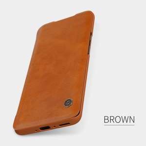 Image 2 - NILLKIN QIN Series for Oneplus 7 Pro/One plus 7 Pro Case Cover Vintage Flip Cover Wallet PU Leather PC Back Cover For Oneplus 7