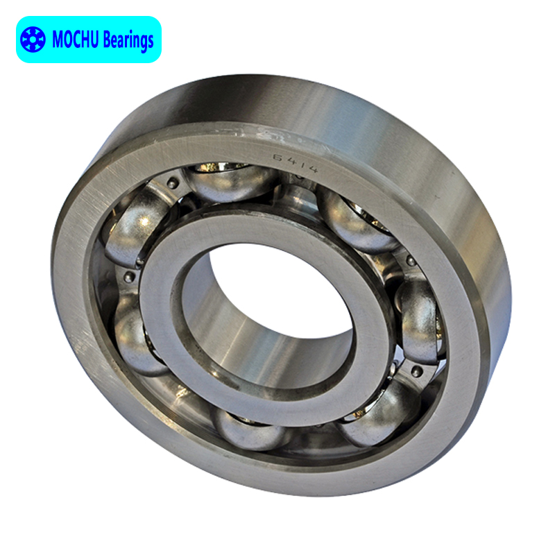 1pcs Bearing 6414 70x180x42 MOCHU Open Deep Groove Ball Bearings Single Row High Quality цена