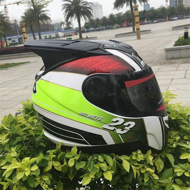 MALUSHEN Unisex Motorcycle Helmet Moto Helmet Moto Cat Helmet Personality Full Face Motor Helmet Mix color Black Corn Green