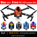 NEW PGY stickers skin for DJI Mavic pro Accessories 3M waterproof PVC decals Drone With 4K HD Camera RC Quadcopter Parts