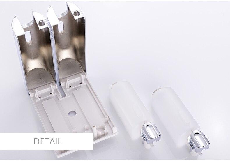 Zeepdispenser Voor Douche : Fapully ziekenhuis hotel badkamer zeepdispenser set wandmontage