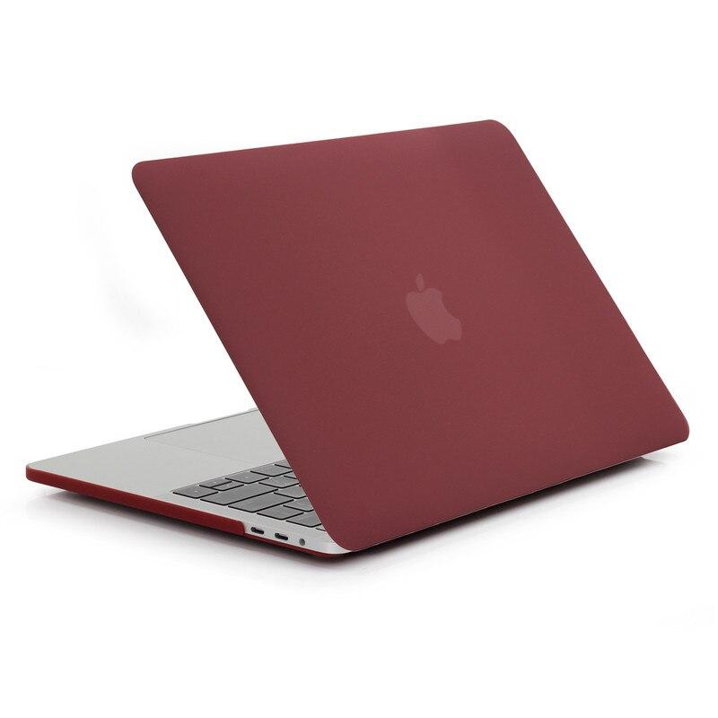 Apple macbook üçün dondurulmuş mat rəngli noutbuk qutusu 11 12 - Noutbuklar üçün aksesuarlar - Fotoqrafiya 3