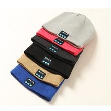 Wireless Bluetooth Hat Call Music Stereo Knitting Headset Cap Fashion Novelty