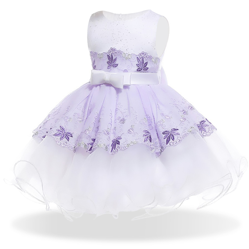 Baby Girl Dress for Girl Baptism Dress Infant 1 Year Birthday Dress for Baby Girl Chirst ...