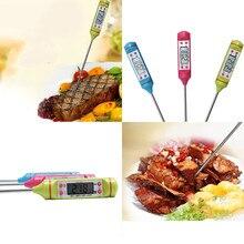 Цифровой кухонный термометр для мяса приготовления пищи воды еда термометр для духовки электронный барбекю термометр кухонные приспособления# SS