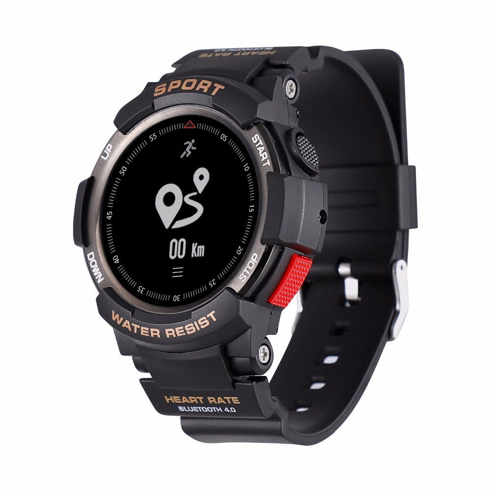 OGEDA F6 Smart Men montre sport Smartwatch montre hommes IP68 sommeil moniteur à distance caméra appareils portables pour iOS Android nouveau