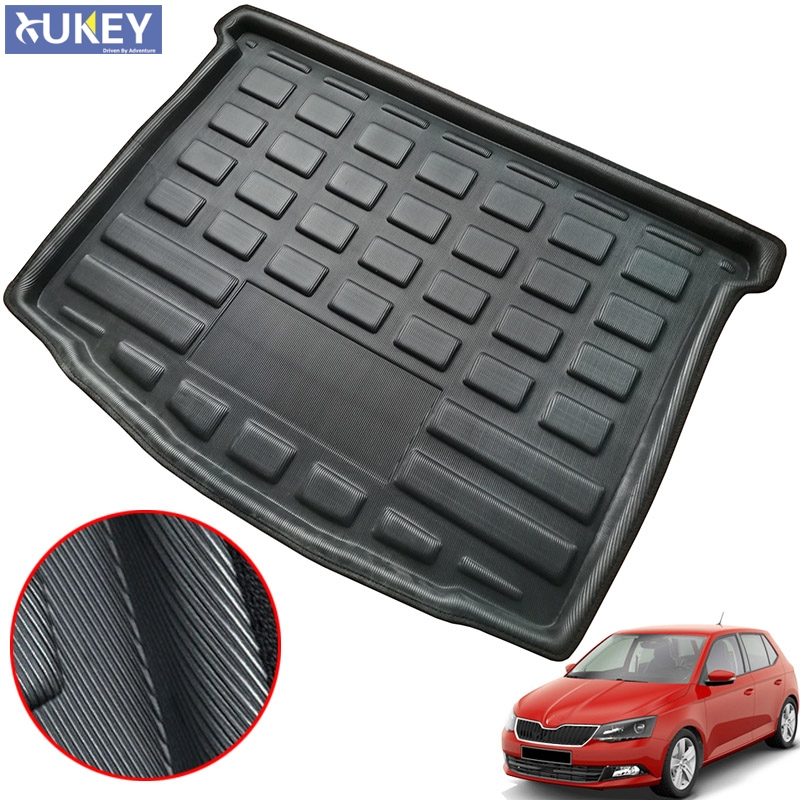Heavy Duty Rubber Car Boot Liner Mat for Citroen C3 Picasso 09-On