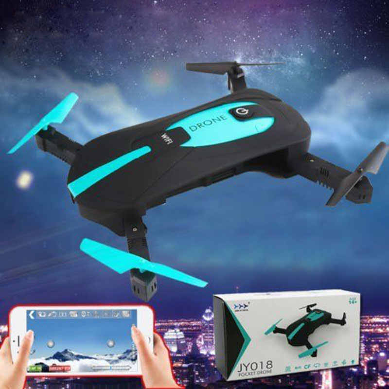 Mini Drones Foldable Selfie HD Camera 2.4G Wifi FPV RC Helicopter One Key Return RC Quadcopter Toys for Children Gifts