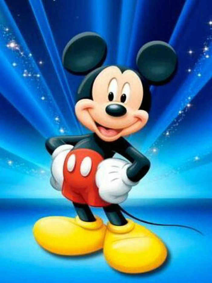 DIY Diamond Embroidery cartoon Mickey mouse Diamond Painting Cross Stitch Kits Home Decor Rhinestone Full Diamond mosaic picture