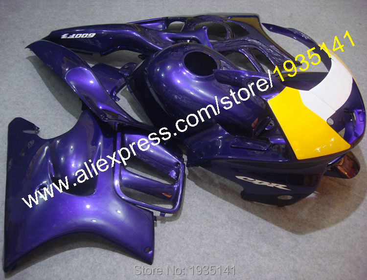 Hot Sales,For Honda CBR600 F3 1997 98 ABS Bodywork Body Kit CBR 600 F3 97 1998 CBR600F3 Motorcycle Fairing (Injection molding)
