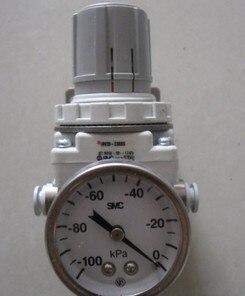Vacío SMC regulador con manómetro IRV20-C08BG inserción directa de 8mm Tubo de diámetro exterior