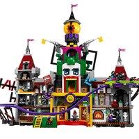 3857 шт. супер герой серии Джокер усадьба комплект 70922 строительные блоки кирпичи игрушки для детей Совместимые Legoings чудеса 70922