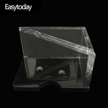 Easytoday 1Pcs Poker Accessories Discard Device Recycling Shelves Two Card Recycler Acrylic Transparent Crystal