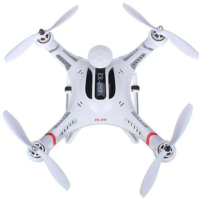 Cheerson CX-20 Auto-Pathfinfer RTF Drone 6-axis GPS MX Autopilot System Quadcopter Aircraft Toy with Camera cheerson cx 20 drones auto pathfinfer open source flight controller 2 4ghz 4ch 6 axis rc quadcopter with gps helicopter drone