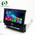 """Универсальный 7 """"сенсорный Экран HD dvd-плеер автомобиля GPS аудио навигатор 1din стерео аудио DVD automotivo 1 Din автомобильный радио аудио стерео"""