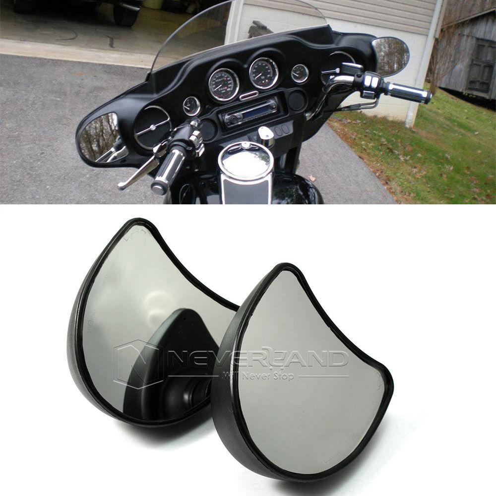 Competent For Harley Street Electra Glide Flhx Flht Flhtk Flhtcu 1996-2013 Motorcycle 10mm Fairing Mount Rearview Mirror Wholesale D10 Soft And Antislippery Automobiles & Motorcycles Side Mirrors & Accessories