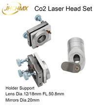 JHCHMX High Quality 40W Co2 Laser Head Set for Model 3020 3040 4060 K40 Co2 Laser Cutting Machines Co2 Laser Head Accessories стоимость