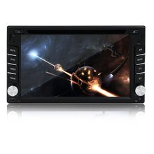 2 Din 6.2 Inch Car DVD Player In Dash Stereo Support RDS Car Radio Bluetooth Audio USB/SD Touchscreen CD Video Player No-GPS VW