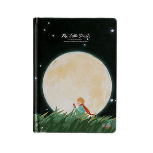 Image 2 - New Vintage Little Prince Notebook Color Paper Hardcover Diary Book Planner School Office Supplies Stationery