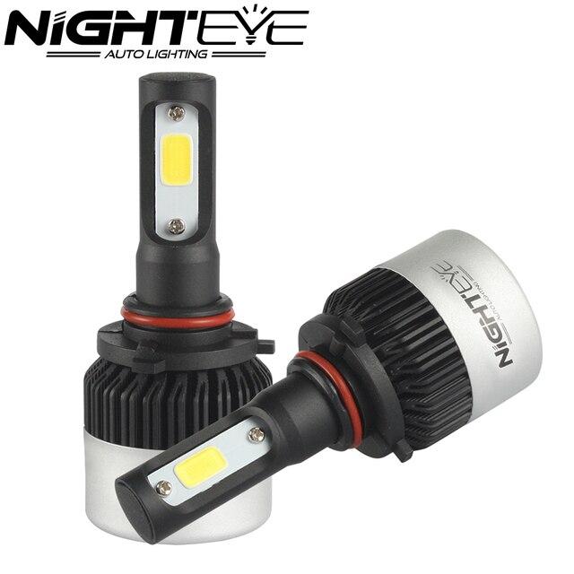 Nighteye 6500K White 72W 9000LM/set 9005 HB3 Car LED Light Headlight Kit Car Fog Bulb Lamps with Cheap Price