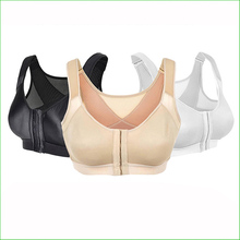 BR04S High Intensity Professional Shockproof  Sports Bra With Front Hasp Women Running Bras Active Underwear