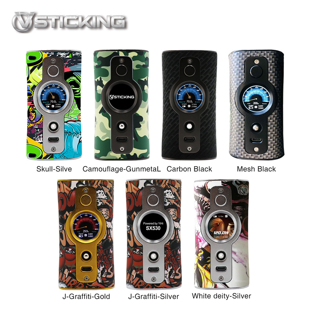 Original 200W Vsticking VK530 TC Box MOD with YiHi SX530 Chip SXi Q System Power By