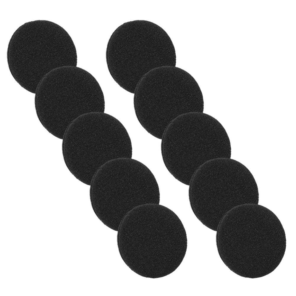 10 Pc czarny trwałe miękka gąbka z pałąkiem na głowę słuchawka douszna poduszka ucha wymiana pokrywy hurtownie szybka darmowe zakupy